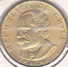 Chile 20 Centavos 1971