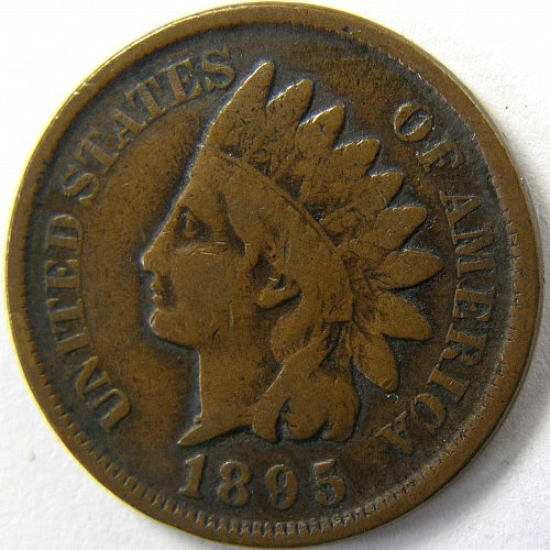 1895 P Indian Head Cent #3