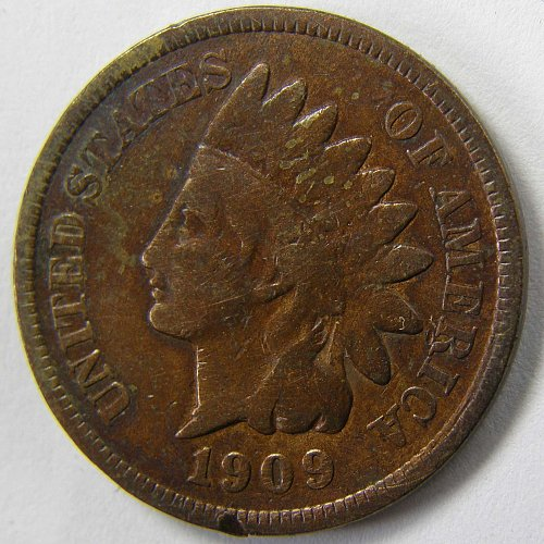 1909 P Indian Head Cent #6