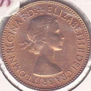 Great Britian 1/2 Penny 1953
