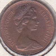 Great Britian 1/2 New Penny 1971