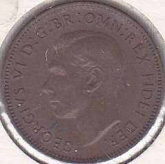 Great Britian 1 Farthing 1951