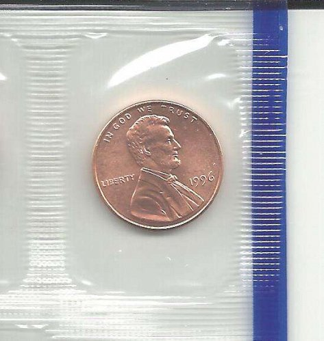 1996 P  LINCOLN CENT