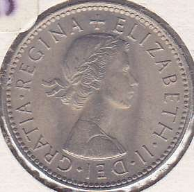 Great Britain 1 Shilling 1966