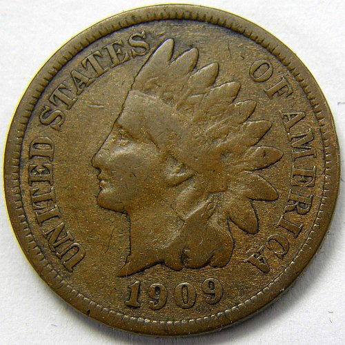 1909 P Indian Head Cent #14
