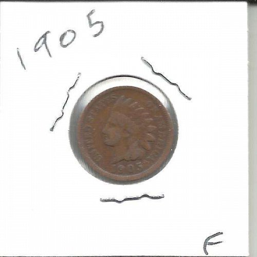 1905 INDIAN CENT