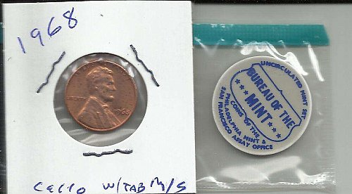 1968 P  LINCOLN CENT