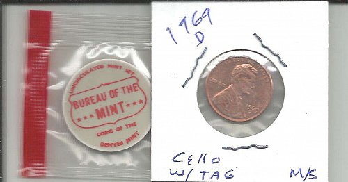 1969 D  LINCOLN CENT