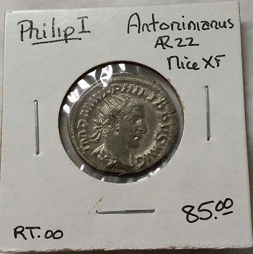 Philip I ~ Antoninanus ~ Silver
