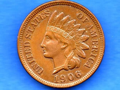 1906 Indian Head Penny US Coin Money Beautiful Coin