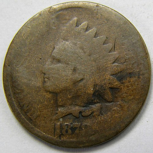 1878 INDIAN HEAD CENT #5