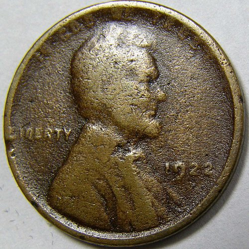 1922 D Lincoln Wheat Cent #2