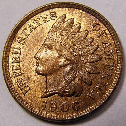 1906 P INDIAN HEAD CENT #9