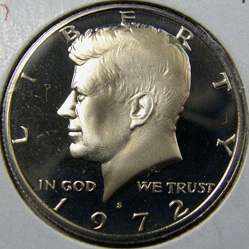 1972 S Kennedy Half Dollar