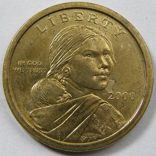 2000 P Sacagawea Dollar #2