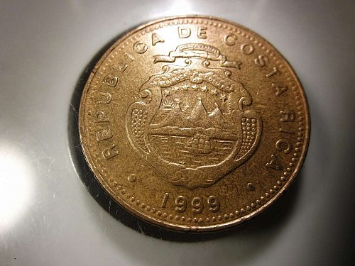 1999 100 Colones Costa Rica    WM-0162