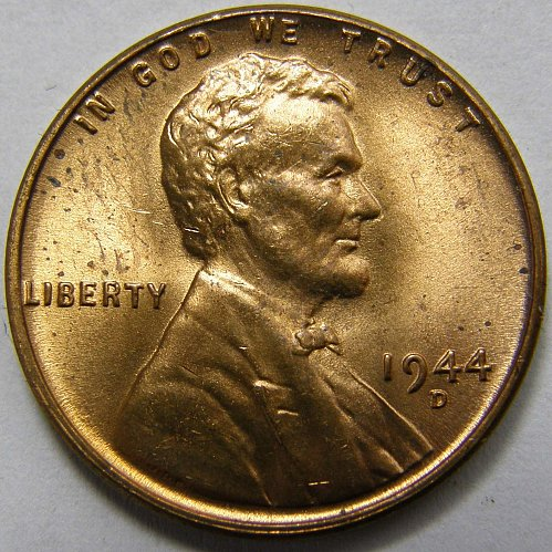 1944 D Lincoln Wheat Cent #1