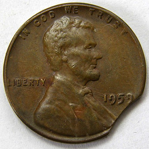 1959 P Lincoln Memorial Cent #2