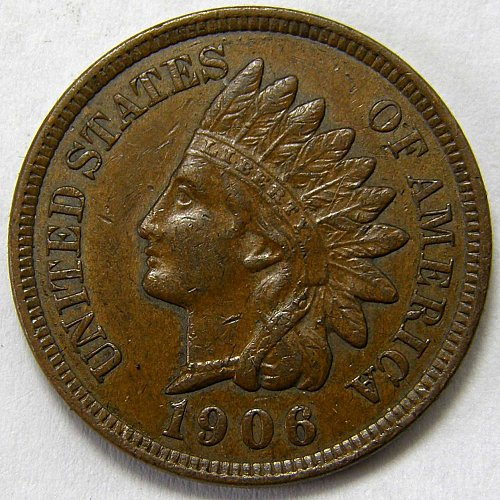 1906 P Indian Head Cent #12