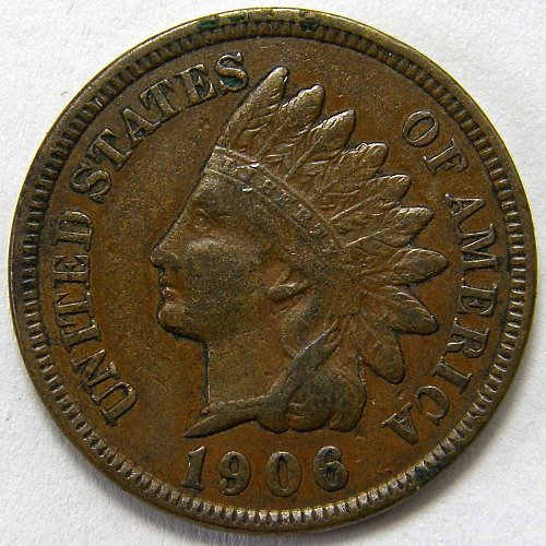 1906 P Indian Head Cent #15
