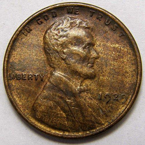 1929 P Lincoln Wheat Cent #2
