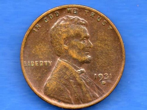 1931 D Lincoln Head PennyGenuine US Coin Money  #6