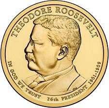 2013  P & D - T. ROOSEVELT GOLDEN DOLLARS