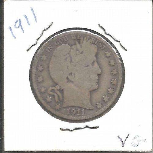 1911 P  BARBER HALF DOLLAR