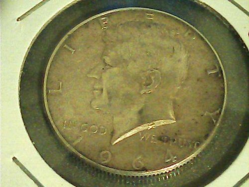 Kennedy Silver Half Dollar,1964 P-Good tone!