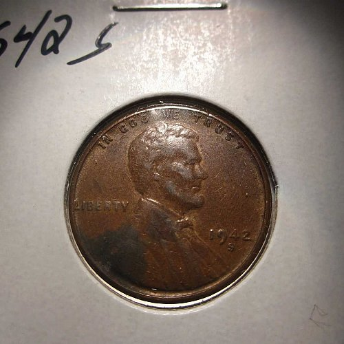 1942 S Lincoln Wheat Cent Small Cents: Nice Penny
