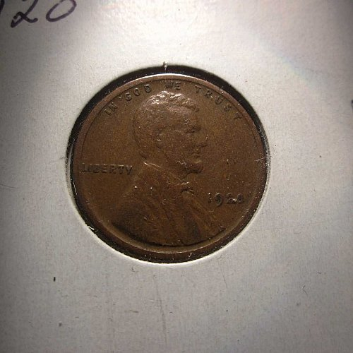 1920 Lincoln Wheat Cent Small Cents: Nice Penny