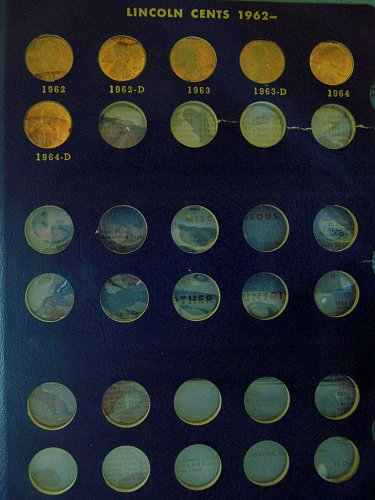Lincoln Cents Collection, 1941 - 1964