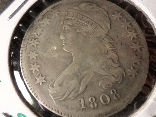 1808 P Capped Bust Half Dollars: