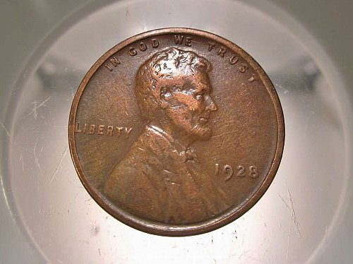 1928 Lincoln Wheat Cent Small Cents: Nice Penny