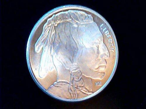 Buffalo Round 1-Troy OZ .999 Fine Silver