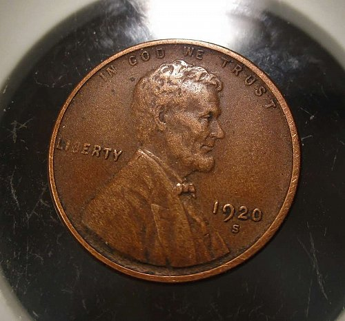 1920 S Lincoln Wheat Cent Small Cents: Nice Penny