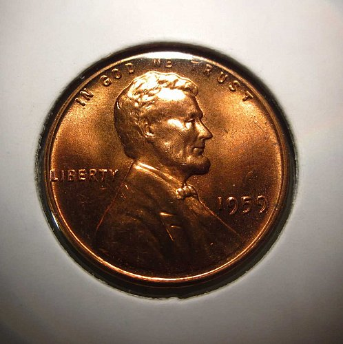 1959 Lincoln Memorial Cent Small Cents: Nice Penny