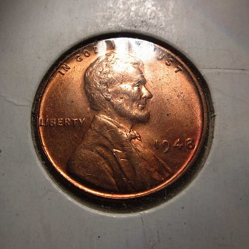 1948 Lincoln Wheat Cent Small Cents: Nice Penny