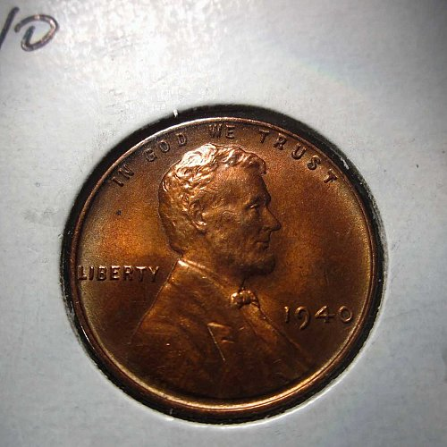1940 Lincoln Wheat Cent Small Cents: Nice Penny