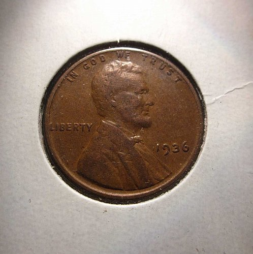1936 Lincoln Wheat Cent Small Cents  Nice Penny