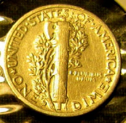 Choice SILVER Mercury Dime  KEY Date  1931 S + 2 FREE Mercuries Too!!