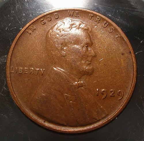 1929 Lincoln Wheat Cent Small Cents: Nice Penny