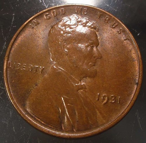 1931 Lincoln Wheat Cent Small Cents: Nice Penny