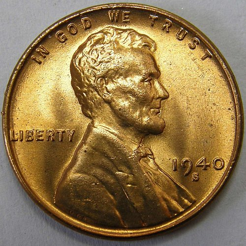 1940 S Lincoln Wheat Cent #2