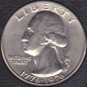 1976 P Washington Quarter