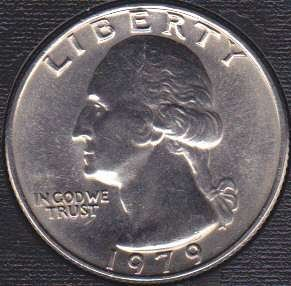 1979 P Washington Quarter