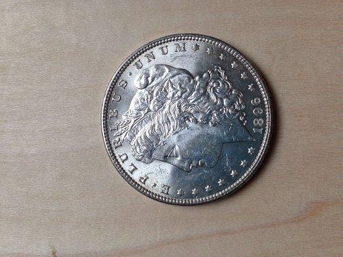 Uncirculated MS64 1896 Morgan Dollar
