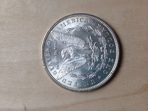 Uncirculated MS64 1896 Morgan Dollar