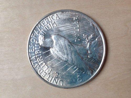 Uncirculated MS65 1922 Peace Dollar