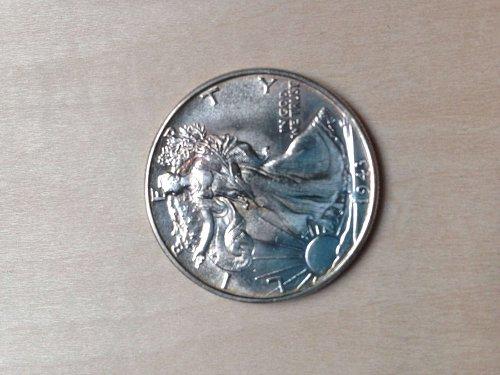 Uncirculated 1943 Walking Liberty Half Dollar